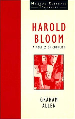 9780133022742: Harold Bloom: Poetics of Conflict