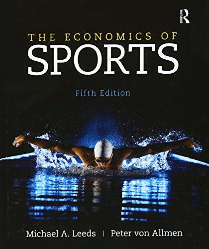 9780133022926: The Economics of Sports (The Pearson Series in Economics)