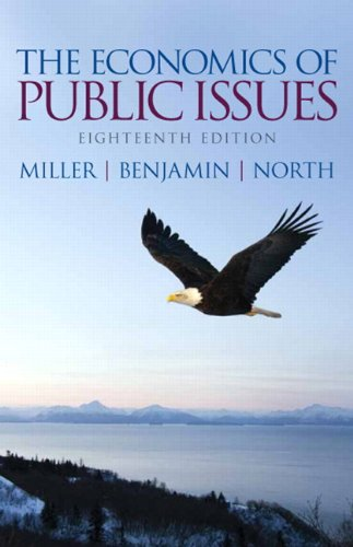 9780133022933: The Economics of Public Issues (18th Edition) (Pearson Series in Economics (Paperback))