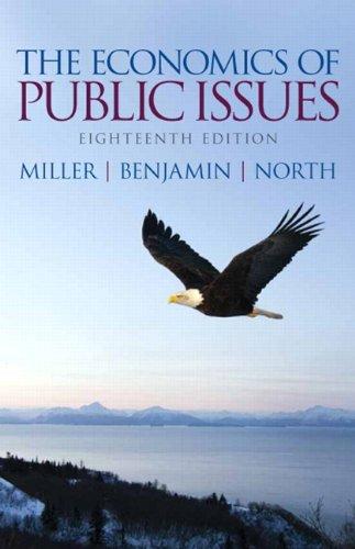 9780133022933: The Economics of Public Issues (18th Edition) (Pearson Series in Economics (Paperback))