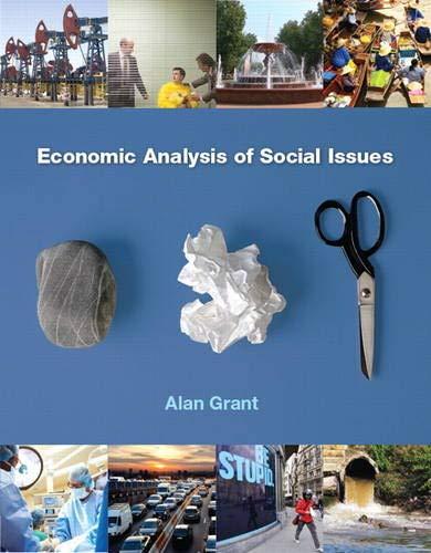 9780133023039: Economic Analysis of Social Issues (Economics)