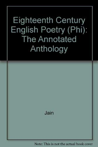 9780133023657: Eighteenth-Century English Poetry: The Annotated Anthology