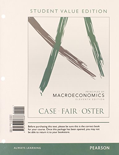 9780133023688: Principles of Macroeconomics, Student Value Edition (11th Edition)