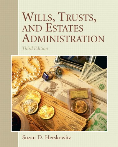 9780133024050: Wills, Trusts, and Estates Administration Plus NEW MyLegalStudiesLab and Virtual Law Office Experience with Pearson eText -- Access Card Package (3rd Edition)