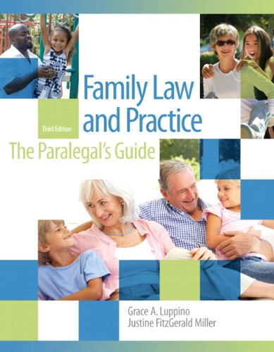 9780133024074: Family Law and Practice: The Paralegal's Guide Plus New MyLegalStudiesLab and Virtual Law Office Experience with Pearson Etext