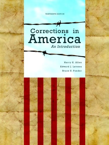 Corrections in America: An Introduction Plus NEW MyCJLab with Pearson eText -- Access Card Package ...