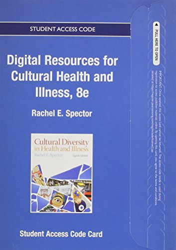 9780133026092: Textbook Resources for Cultural Diversity in Health and Illness -- Access Card