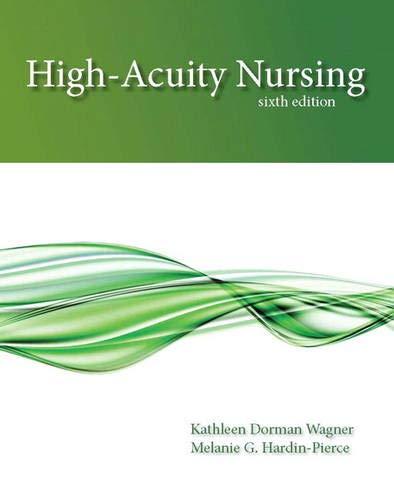 9780133026924: High-Acuity Nursing