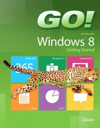 9780133027655: GO! with Windows 8 Getting Started