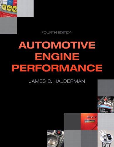 9780133027754: Automotive Engine Performance (4th Edition) (Automotive Systems Books)