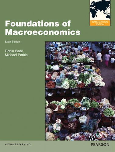 9780133029529: Foundations of Macroeconomics