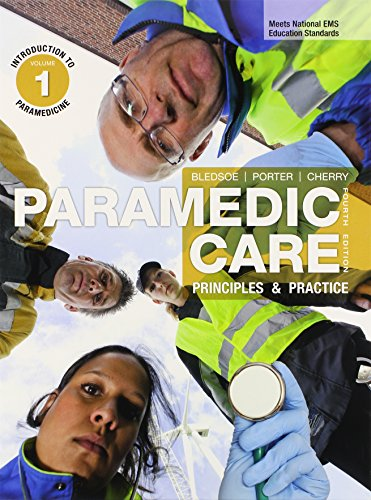 Paramedic Care Principles and Practice, 7-Volume Package: BLEDSOE & PORTER,