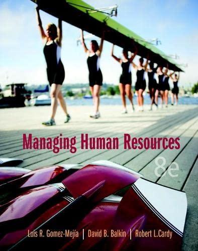 9780133029697: Managing Human Resources