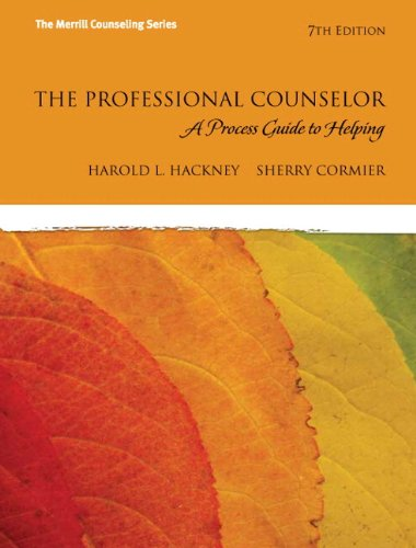 9780133033243: The Professional Counselor: A Process Guide to Helping Plus MyCounselingLab with Pearson eText -- Access Card Package (7th Edition) (The Merrill Counseling)