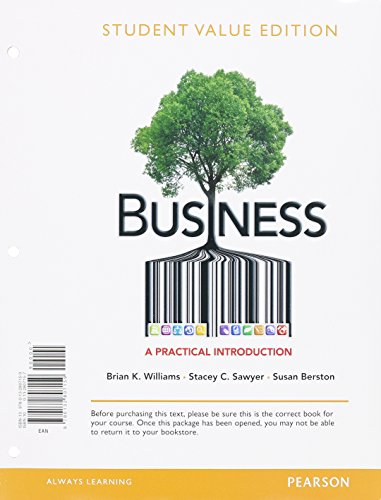 9780133033991: Business: A Practical Introduction, Student Value Edition Plus NEW mybizlab with Pearson eText -- Access Card Package