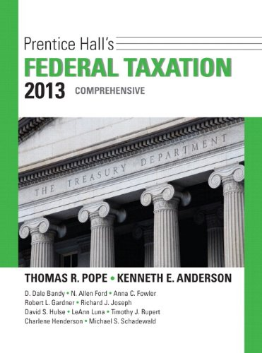 9780133035186: Prentice Hall's Federal Taxation 2013 Comprehensive Plus NEW MyAccountingLab with Pearson eText -- Access Card Package (26th Edition)
