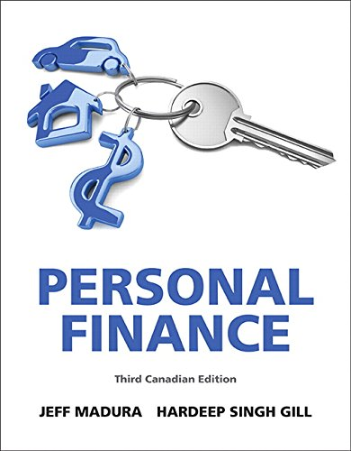 9780133035575: Personal Finance, Third Canadian Edition (3rd Edition)