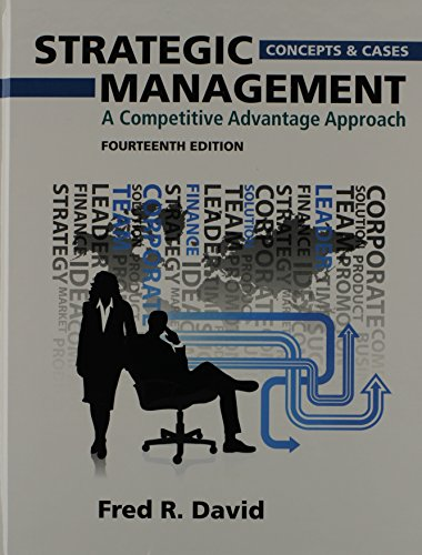 9780133035674: Strategic Management: A Competitive Advantage Approach, Concepts and Cases Plus NEW MyManagementLab with Pearson eText -- Access Card Package (14th Edition)