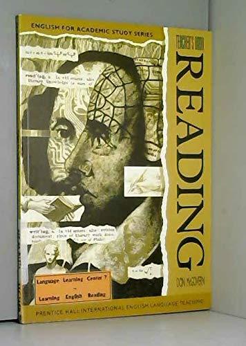 9780133037104: Reading: Teacher's Book (English for Academic Study)