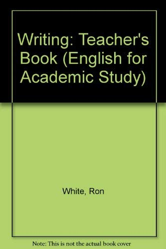 9780133037364: Writing: Teacher's Book (English for Academic Study)