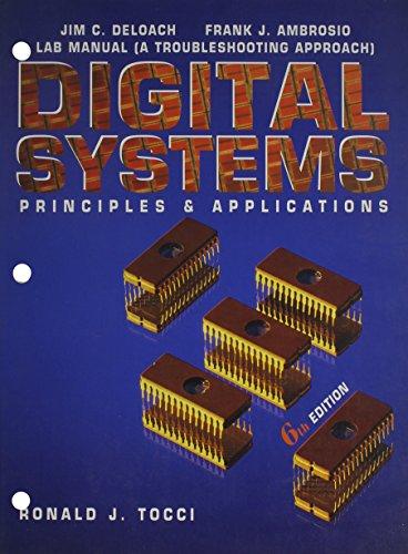 9780133037777: Troubleshooting Digital Systems: Lab Ma