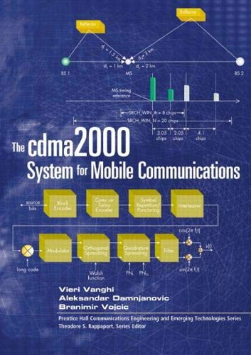 9780133038675: cdma2000 System for Mobile Communications, The (paperback) (Prentice Hall Communications Engineering and Emerging Technologies Series from Ted Rappaport)