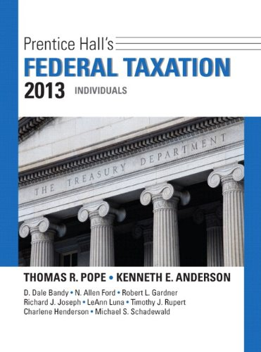 9780133040678: Prentice Hall's Federal Taxation 2013 Individuals Plus NEW MyAccountingLab with Pearson eText -- Access Card Package (26th Edition)