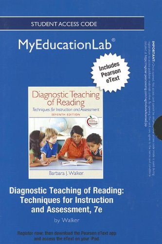 9780133040968: NEW MyEducationLab with Pearson eText -- Standalone Access Card -- for Diagnostic Teaching of Reading: Techniques for Instruction and Assessment