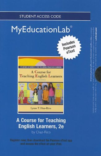 9780133041125: NEW MyEducationLab with Pearson eText -- Standalone Access Card -- for A Course for Teaching English Learners (myeducationlab (Access Codes))