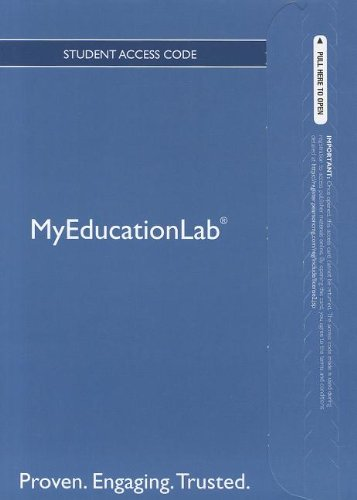 9780133041156: NEW MyEducationLab with Pearson eText -- Standalone Access Card -- for Including Students with Special Needs: A Practical Guide for Classroom Teachers