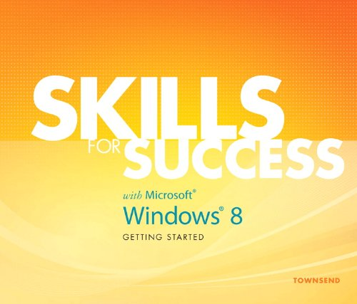 9780133041774: Skills for Success with Windows 8 Getting Started