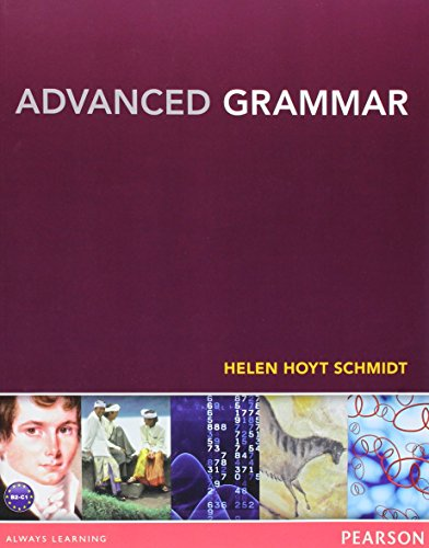 9780133041804: Advanced Grammar