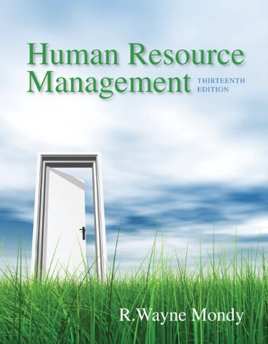 Human Resource Management (13th Edition): R. Wayne Dean