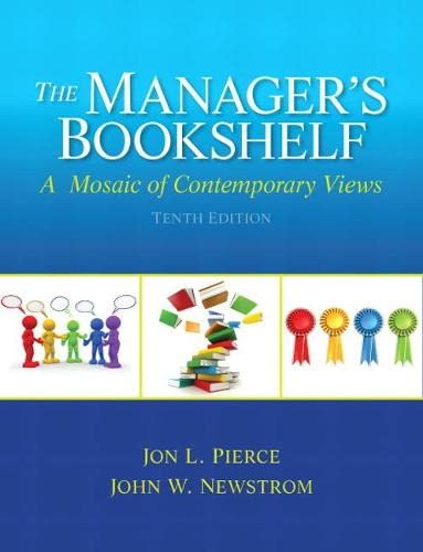 9780133043594: The Manager's Bookshelf