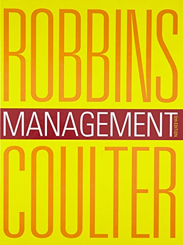 Management (12th Edition): Coulter, Mary, Robbins,