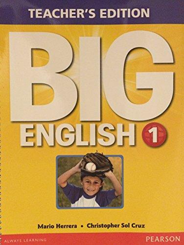 9780133044003: Big English 1 Teacher's Edition
