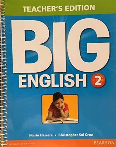 9780133044010: Big English 2 Teacher's Edition
