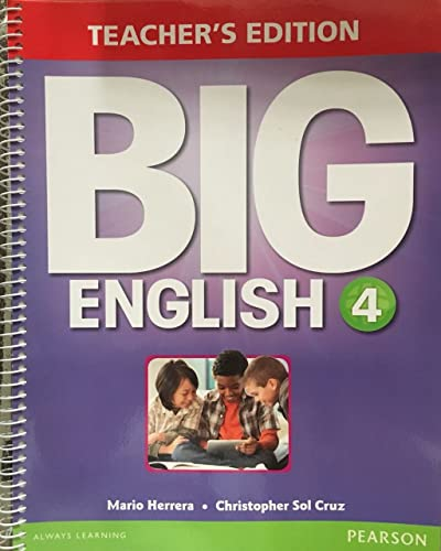 9780133044102: BIG ENGLISH 4 TE