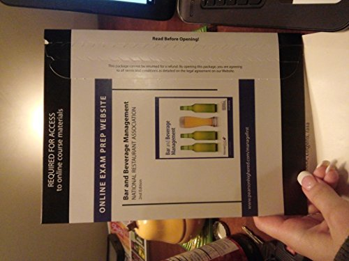 9780133044560: Exam Prep for Bar and Beverage Management -- Access Card
