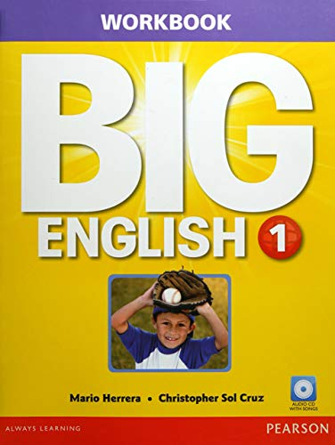 9780133044898: Big English 1 Workbook w/AudioCD