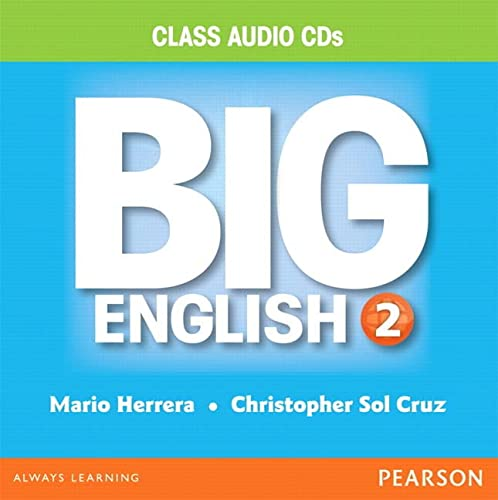 9780133044911: BIG ENGLISH 2 AUDIO CD