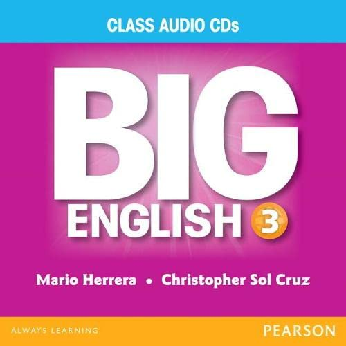 9780133044980: BIG ENGLISH 3 AUDIO CD