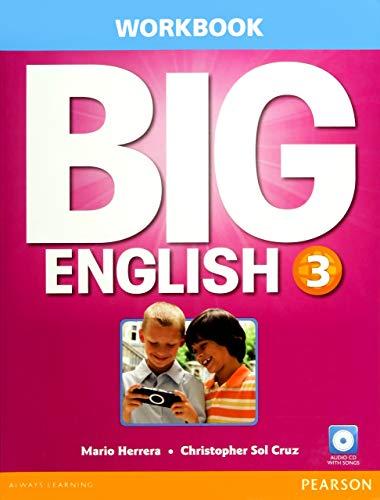 Big English 3 Workbook w/AudioCD: Herrera, Mario and