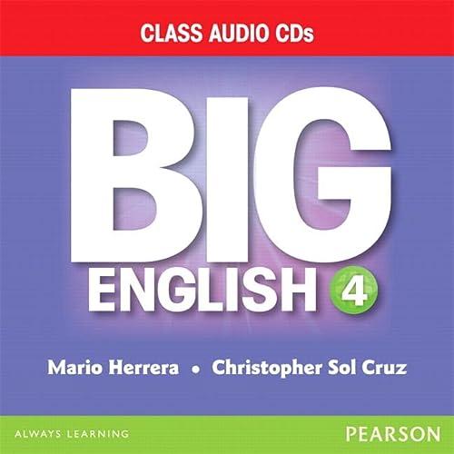 9780133045055: BIG ENGLISH 4 AUDIO CD