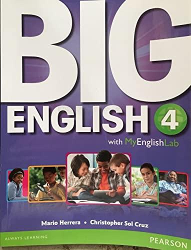 9780133045086: Big English 4 Student Book with MyLab English
