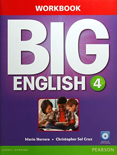 9780133045093: Big English 4 Workbook w/AudioCD