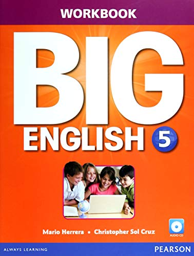 9780133045185: Big English 5 Workbook W/audioCD