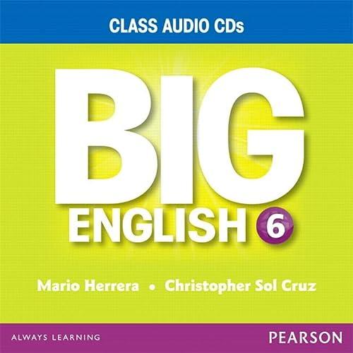 BIG ENGLISH 6 AUDIO CD: CRUZ HERRERA
