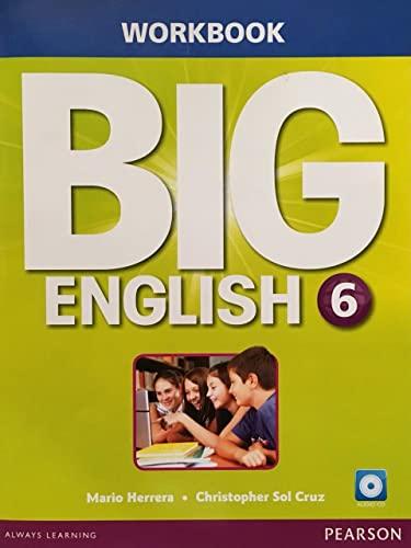 Big English 6 Workbook w/AudioCD (Mixed media: Mario Herrera, Christopher