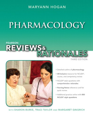 9780133045994: Pearson Reviews & Rationales: Pharmacology with